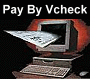 Pay Online with vCheck